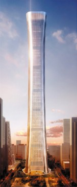 Structural Design of China Zun Tower