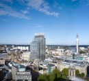 Doone Silver's design for a new landmark tower in Birmingham for Sterling Property
