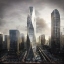 Wavy Tower of Hangzhou