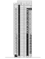 CDC Xin-Yi Residential Tower Elevation North