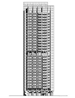 CDC Xin-Yi Residential Tower Elevation South
