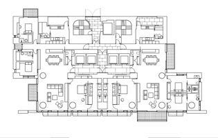 CDC Xin-Yi Residential Tower Typical Lower Floor Plan