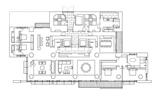 CDC Xin-Yi Residential Tower Typical Upper Floor Plan